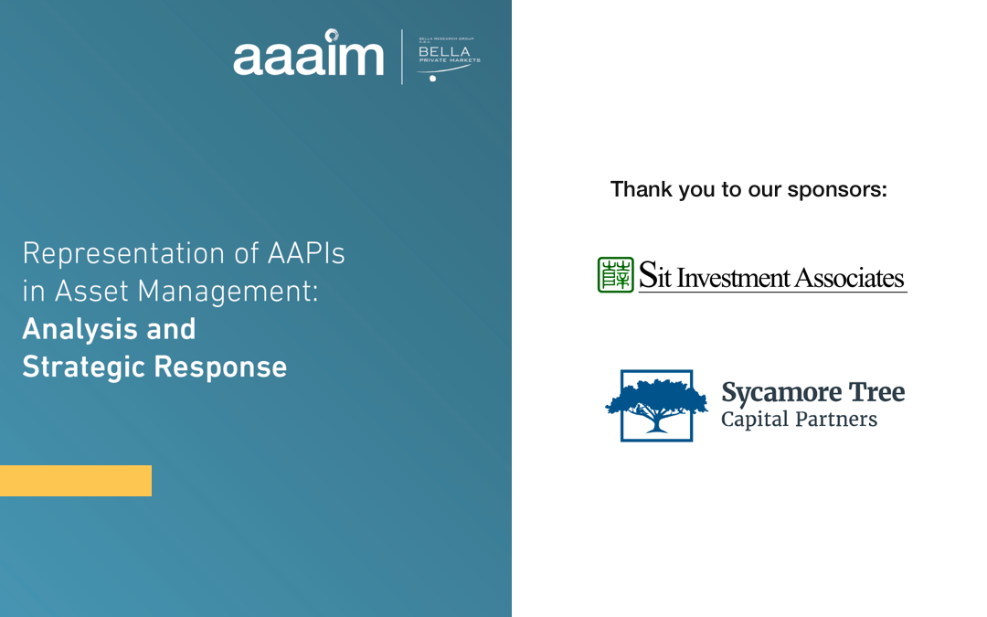 Representation of AAPIs in Asset Management: Analysis and Strategic Response